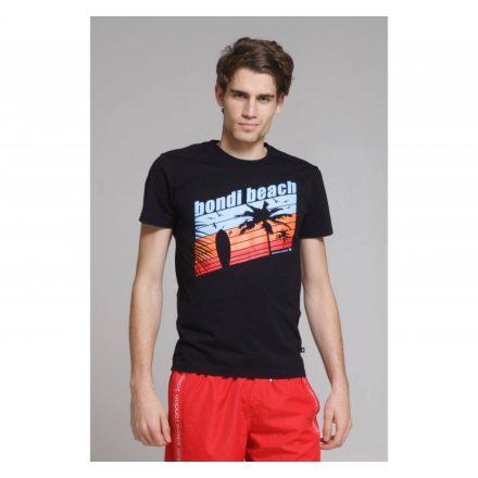 SAXOO LONDON Devimbre t-shirt (fekete)