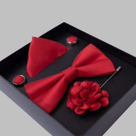 FALCON'S Nyakkendő Szett (piros)