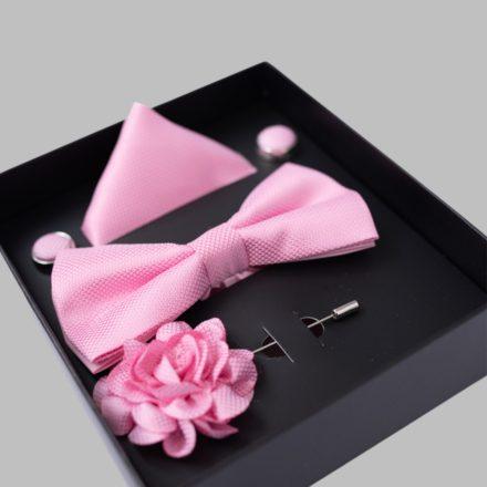 FALCON'S Nyakkendő Szett (rózsaszín)