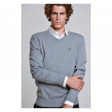 SAXOO LONDON Arian pulóver new v (szürke)