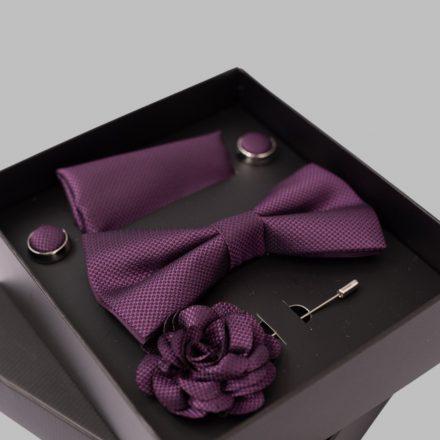 FALCON'S Nyakkendő Szett (bordó)