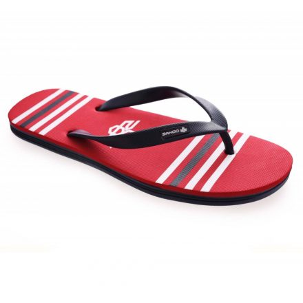 SAXOO LONDON Corin papucs (piros-kék)