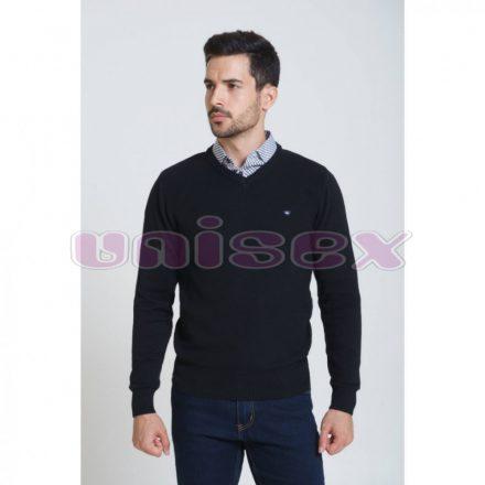 SAXOO LONDON Enid v pulóver (fekete)