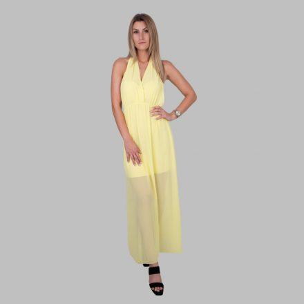 Afra hosszú ruha (sárga)