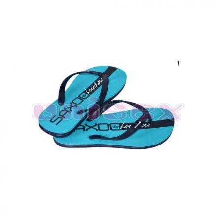 SAXOO LONDON Volta slippers papucs (türkiz-sötétkék)