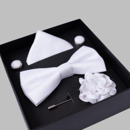FALCON'S Nyakkendő Szett (fehér)